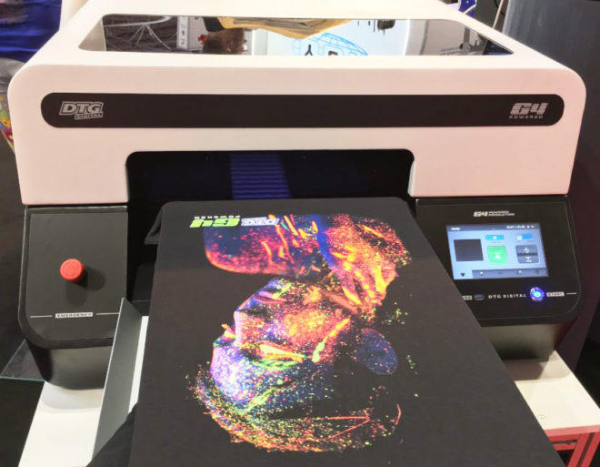 Tradeshow - DTG G4 Direct To Garment Printer