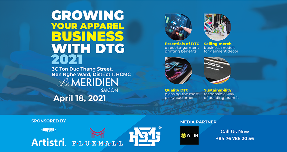 Growing Your Apparel Business with DTG 2021