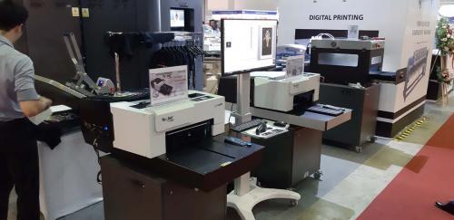 1. Cài đặt máy in DTG kép tại VTG 2019