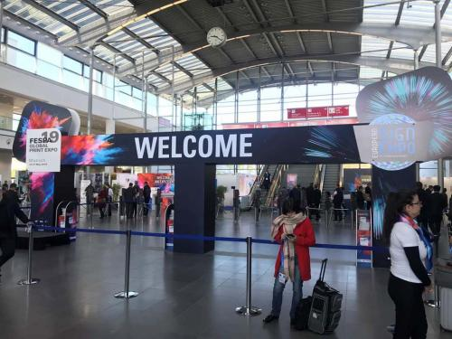 1. FESPA Global Print Expo 2019 Entrance