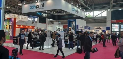 2. Polyprint booth in Global Print Expo 2019