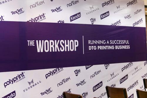 1. Hội thảo - Điều hành một doanh nghiệp in DTG thành công