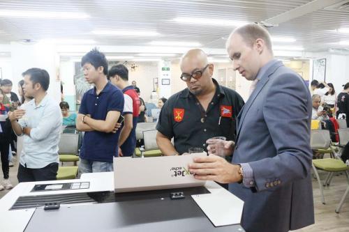 6. DTG printing machine demonstration