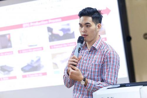 8. Đặng Phạm phát biểu về quy trình sản xuất DTG